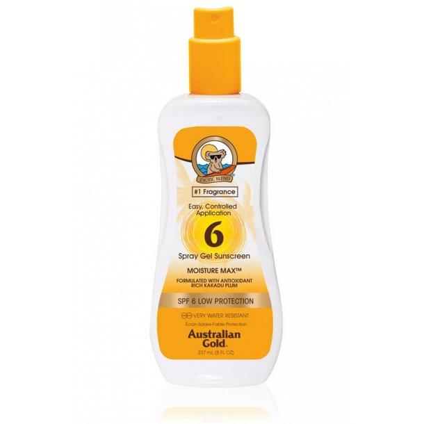 Solcreme SPF 6 m/spray – Australian Gold